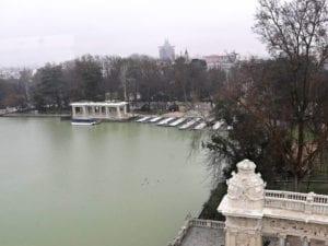 Monumento a Alfonso XII | 1922 | José Grases Riera | Estanque grande del parque del Retiro | Madrid | Vista del estanque desde el mirador