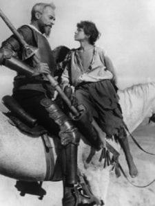 Exposición 'Cervantes. En la cinta del tiempo' | Museo Casa Natal de Cervantes | Alcalá de Henares | 26/05 al 18/11/2018 |  Imagen 'Don Kikhot' (1957) | Grigori Kozintsev