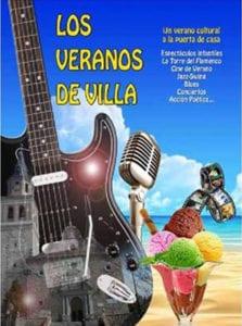 Veranos de la Villa de Vallecas 2018 | Madrid | Del 06/07 al 25/08/2018 | Cartel