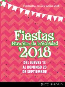 Fiestas de Barajas 2018   Nuestra Señora de la Soledad   13-16/09/2018   Barajas   Madrid   Cartel
