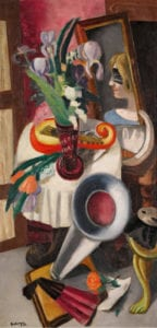 Beckmann. Figuras del exilio | Museo Nacional Thyssen-Bornemisza | 25/10/2018 - 27/01/2019 | 'Naturaleza muerta con gramófono e iris germánicas (1924) | The Lewis Collection