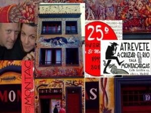 El Montacargas | 25 años de teatro alternativo | 1993-2018 | Puerta del Ángel | Latina | Madrid | Atrévete a cruzar el río!