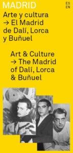 Guía El Madrid de Lorca, Dalí y Buñuel | Ayuntamiento de Madrid, 2018 | Portada