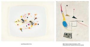 El Thyssen en el plato | Arte y cocina | Museo Nacional Thyssen-Bornemisza | Madrid | Juan Manuel de la Cruz | 'Pintura sobre fondo blanco' (1927) | Joan Miró