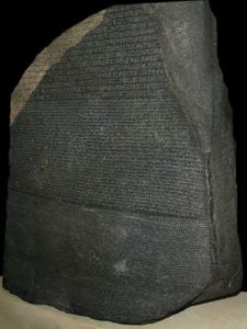 Piedra de Rosetta | The British Museum | Londres | Reino Unido
