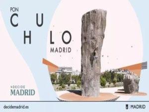 Apoya los Presupuestos Participativos 2019   Ayuntamiento de Madrid   Del 15 al 29/01/2019   ¡Pon Chulo Madrid!