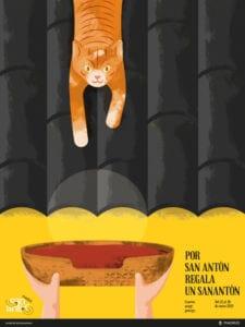 Fiestas de San Antón 2019 | 12-20/01/2019 | Chueca | Madrid | Cartel