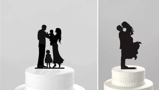 Cash In with Laser Cut Cake Toppers   Ponoko Laser Cut Silhouettes