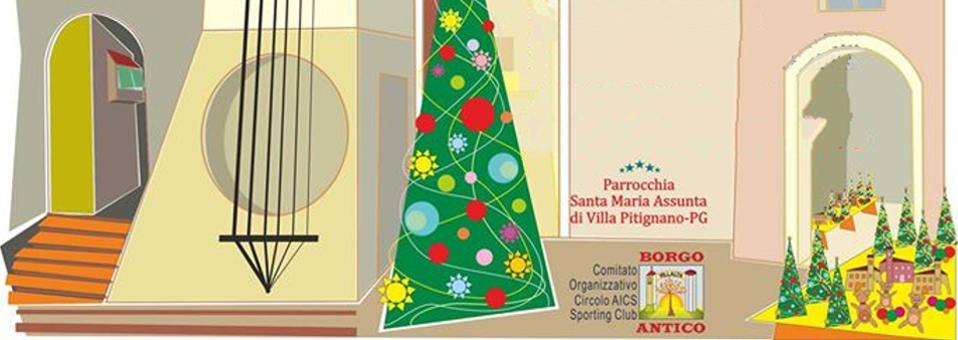Mercatino e Concerto di Natale a Villa Pitignano
