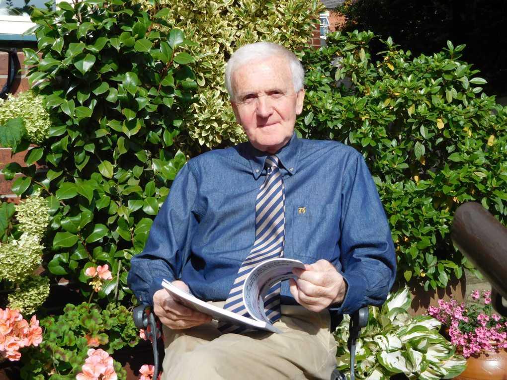 Local author, Roger Ellis.