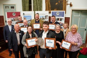Pontefract businesses with their Design Awards.