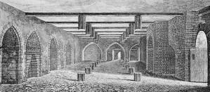A sketch of the basement of the houses or parliment.