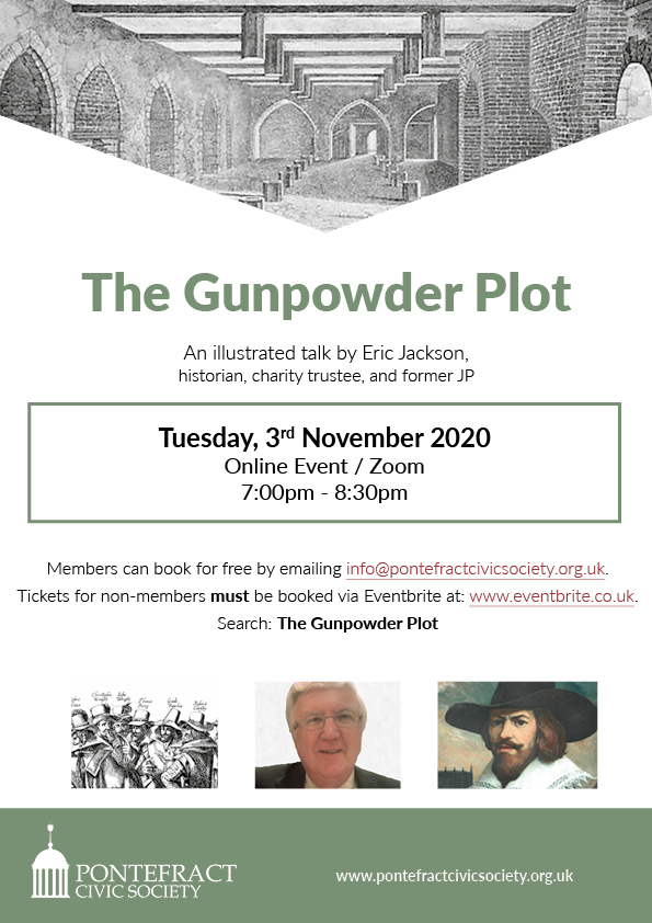 Gunpowder plot poster.
