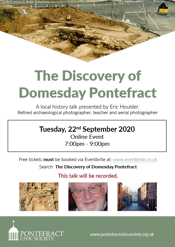 Discovery of Domesday Pontefract Poster.