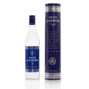 Ouzo Gatsios Blue Pontiki