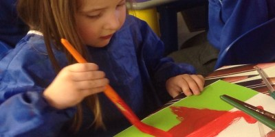 Nursery's Welsh Dragons.