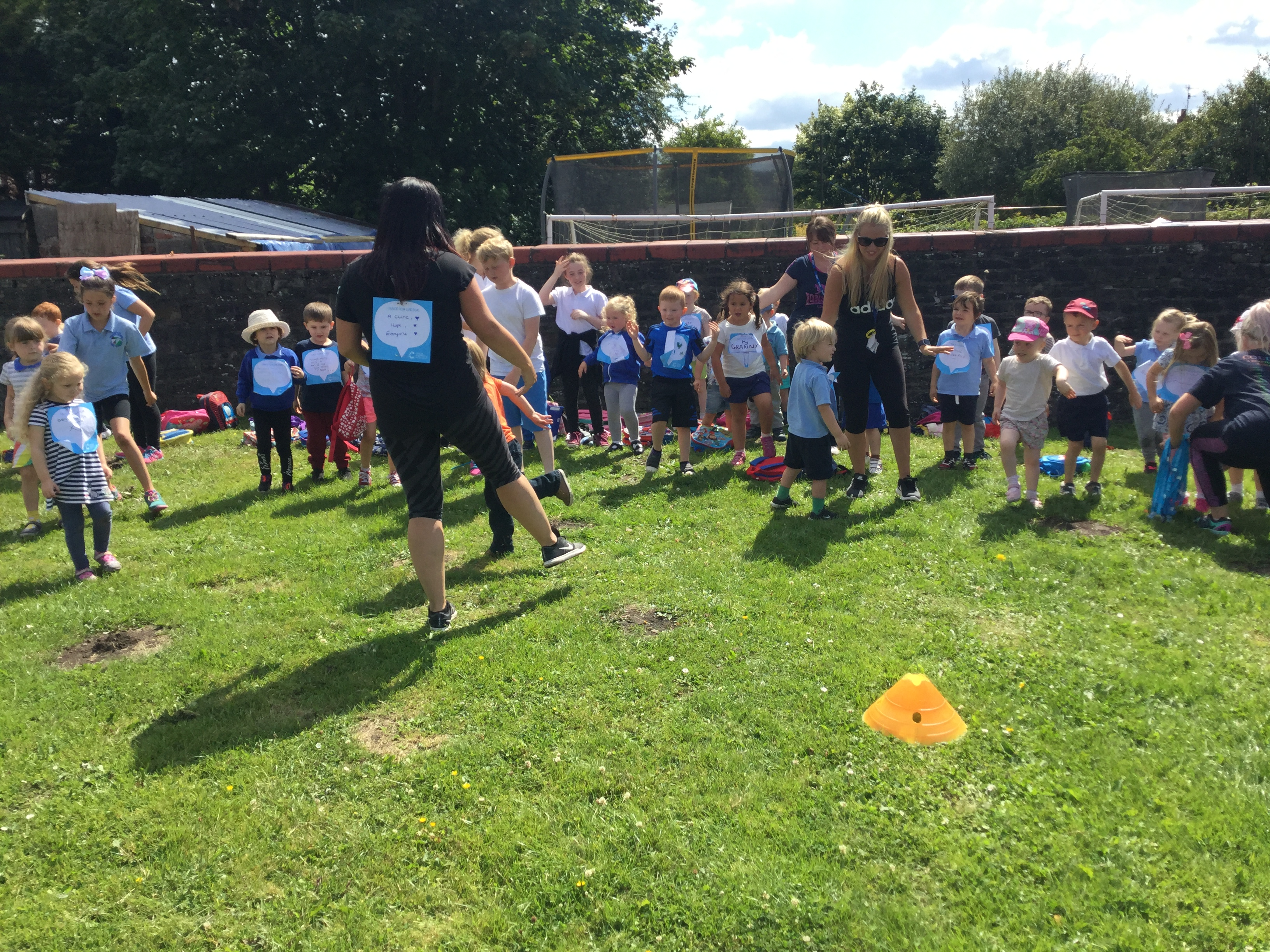 Nursery's Race for Life.