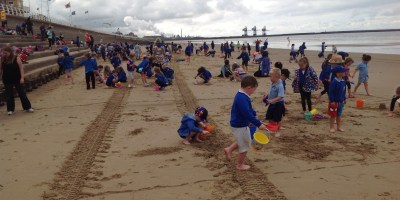We do like to be beside the seaside!