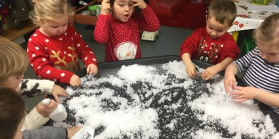 Snow…In Nursery!