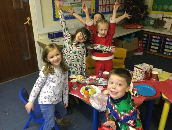 Year 1: Christmas party