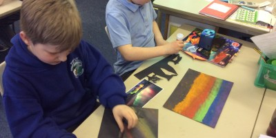 Year 3 Northern Lights Artists!