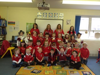 Happy St. David's Day from Year 1