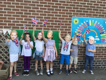 Year 2 Royal Wedding Photo Booth