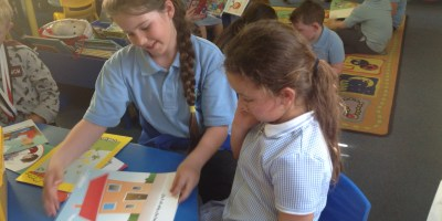 Years 1 & 5: Buddy reading