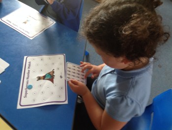 Clever counting in Year 1