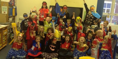 Our very own special Superheroes…