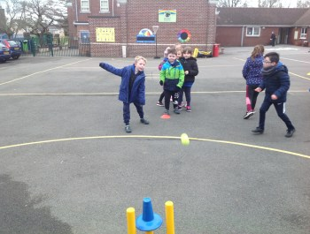 Year 2 Cricket Session