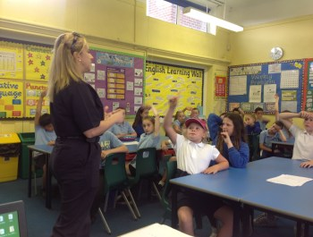 Fire Service visit in Year 5