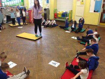 Reception Gymnastics!