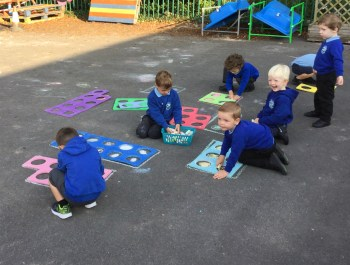 Numicon in Nursery