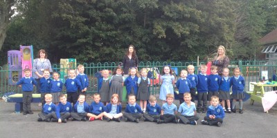 Our First Day In Year 1!