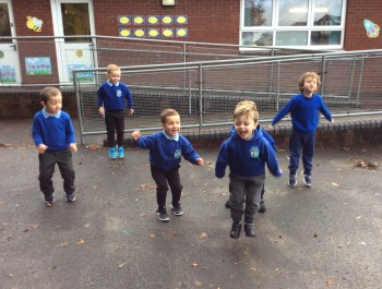 Our Number 4 P.E Lesson