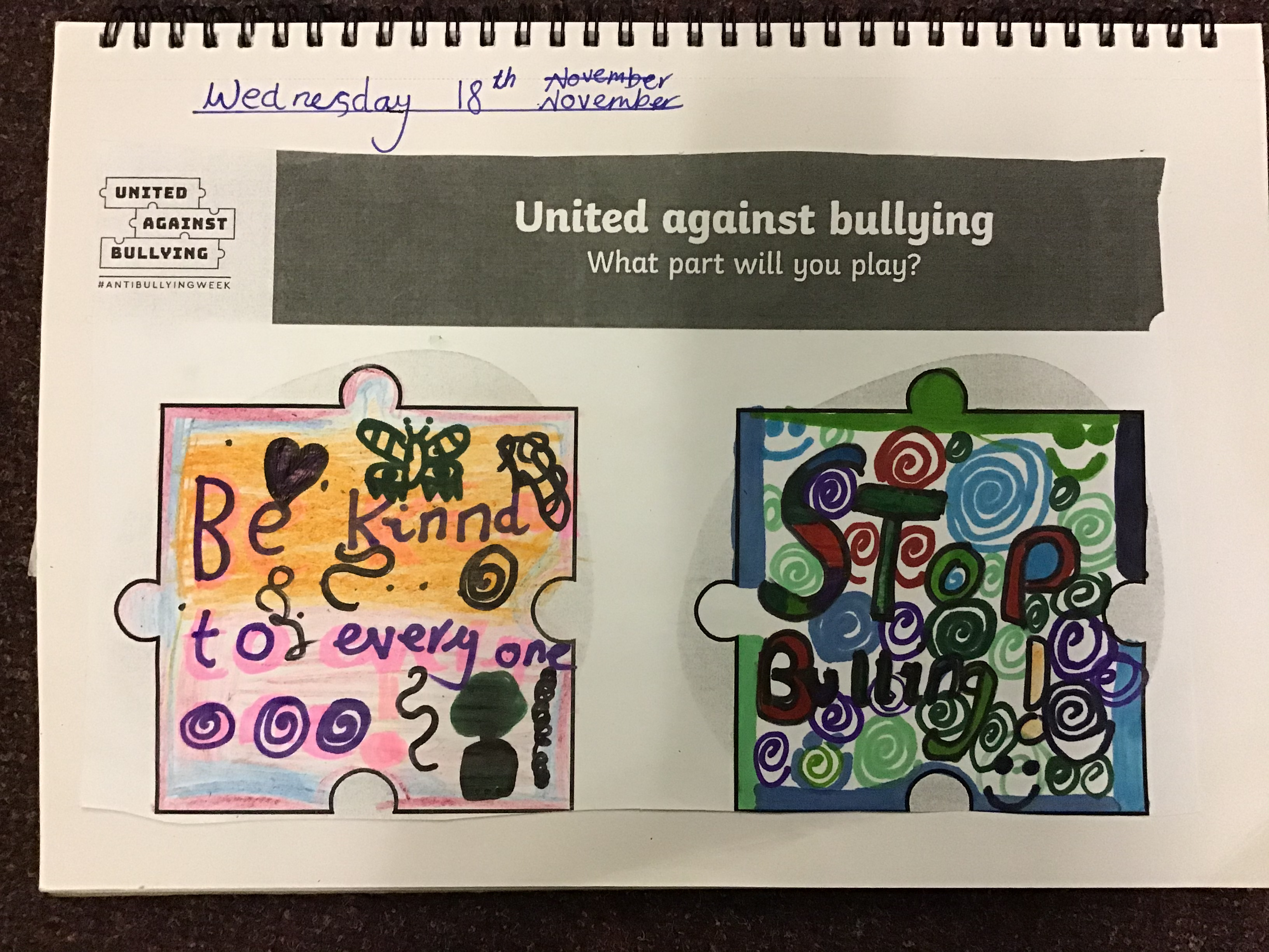 Uniting Against Bullying in Year 4