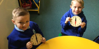 Learning all about time in Year 1!
