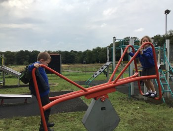 Exploring movement and forces at Pontlliw Park