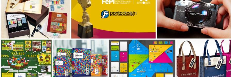 Pontodesign é premiada 6 vezes no FePI