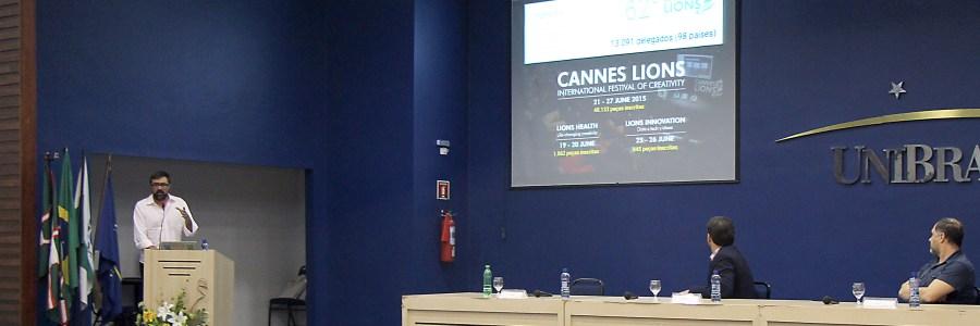 Joaquin Presas palestra em Aula Magna