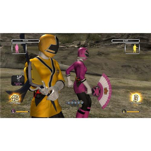 Jogo Power Rangers Super Samurai Xbox 360 Jogos Xbox 360 No