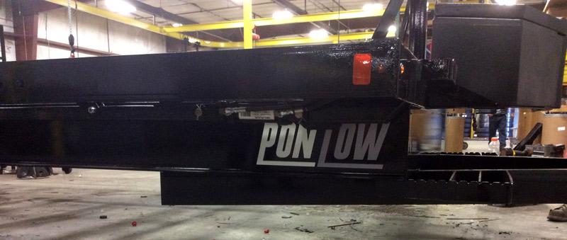 PonTow Pontoon Trailer