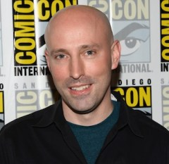 O escritor Brian K. Vaughan