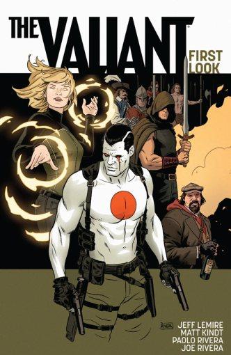 The Valiant, crossover dos personagens da editora