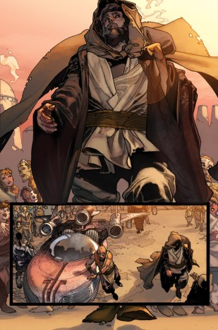 Página da HQ Star Wars Legends #7