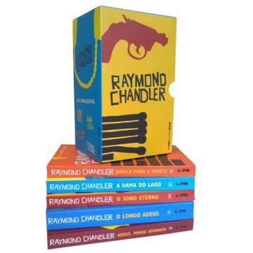 Livro-Box-Raymond-Chandler-05-Volumes-172466