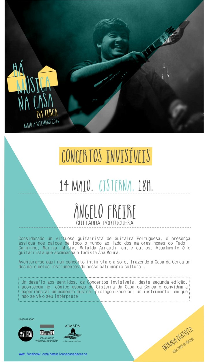 HÁ MÚSICA NA CASA DA CERCA_Concerto 14 maio