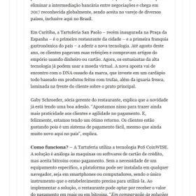 Tartuferia San Paolo - BLOG DA ALICE VARAJÃO