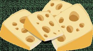 dibujo queso suizo